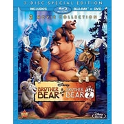 Brother Bear/Brother Bear 2 (Blu-Ray + DVD)