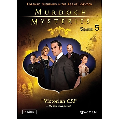 Murdoch Mysteries Season 5 (DVD)
