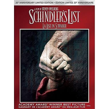 Schindler's List 20th Anniversary Limited Edition (DVD + UltraViolet + Digital Copy)
