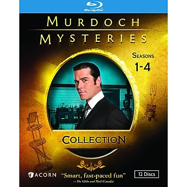Murdoch Mysteries Collection (Blu-Ray)