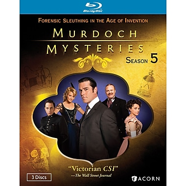 Murdoch Mysteries Season 5 (Blu-Ray)