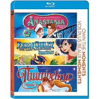 Anastasia/Ferngully/Thumbellina (Blu-Ray)