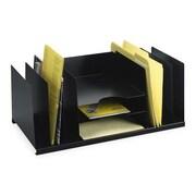 mmf steelmaster desktop lettersize file organizer