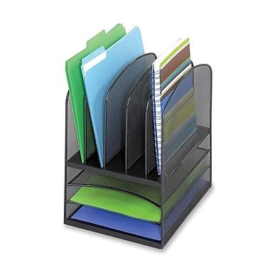 Safco – Range-tout de bureau et plateau à lettres en mailles