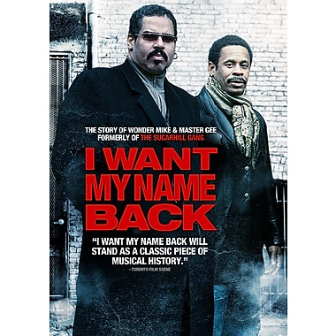 I Want My Name Back (DVD)