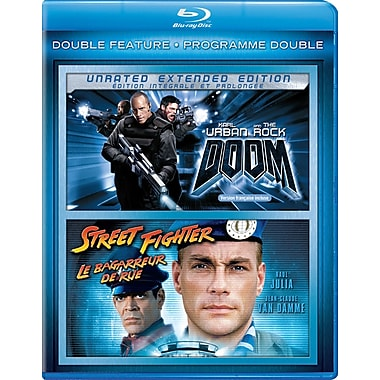 Doom/Street Fighter (Blu-Ray)
