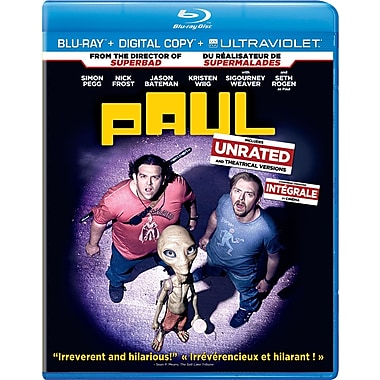 Paul (Blu-Ray + copie numérique + UltraViolet)