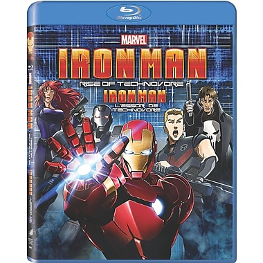Iron Man: Rise of the Technovore (Blu-Ray + UltraViolet)
