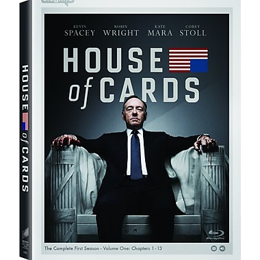 House of Cards: The Complete First Season (Blu-Ray + UltraViolet)