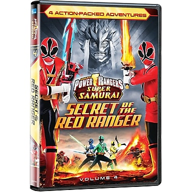 Power Rangers Super Samurai: Secret Of The Red Ranger (DVD)