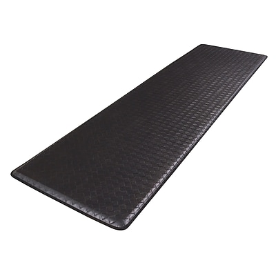 GelPro Classic Anti-Fatigue Comfort Floor Mat: 20x72: Basketweave Black