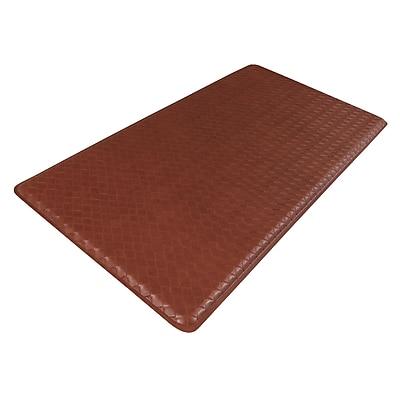 GelPro Classic Anti-Fatigue Comfort Floor Mat: 20x48: Basketweave Chestnut