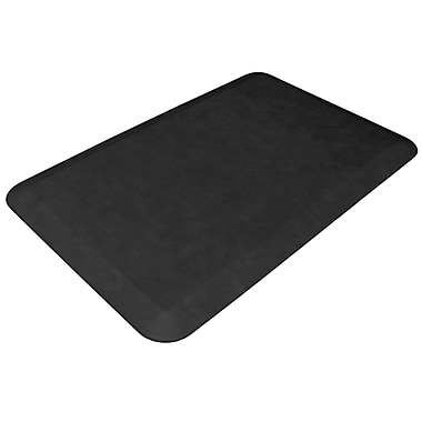 NewLife Designer Comfort Mat: 20x32 Leather Grain Jet