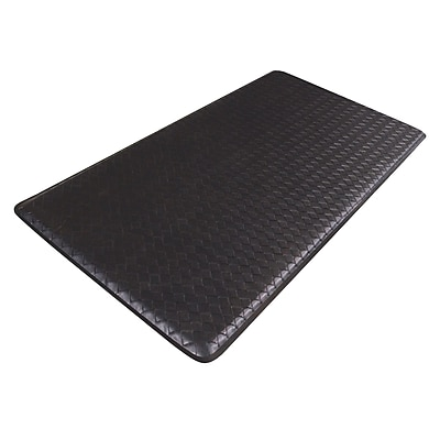 GelPro Classic Anti-Fatigue Comfort Floor Mat: 20x48: Basketweave Black
