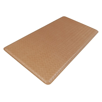GelPro Classic Anti-Fatigue Comfort Floor Mat: 20x48: Basketweave Khaki