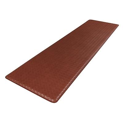GelPro Classic Anti-Fatigue Comfort Floor Mat: 20x72: Basketweave Chestnut
