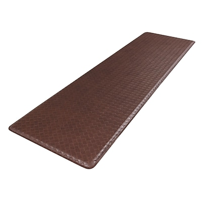 GelPro Classic Anti-Fatigue Comfort Floor Mat: 20x72: Basketweave Truffle
