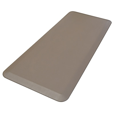 NewLife Eco-Pro by GelPro Anti-Fatigue Stand Desk & Comfort Work Floor Mat: 20x48: Taupe