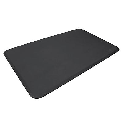 NewLife Eco-Pro by GelPro Anti-Fatigue Stand Desk & Comfort Work Floor Mat: 36x60 Black