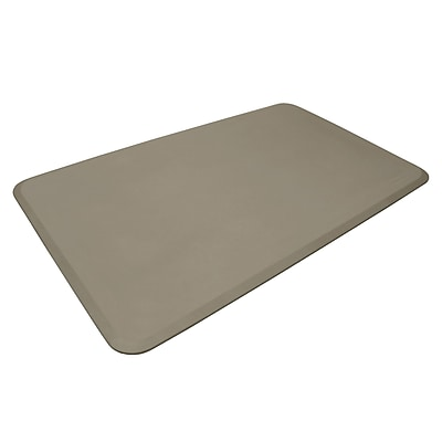 NewLife Eco-Pro by GelPro Anti-Fatigue Stand Desk & Comfort Work Floor Mat: 36x60: Taupe