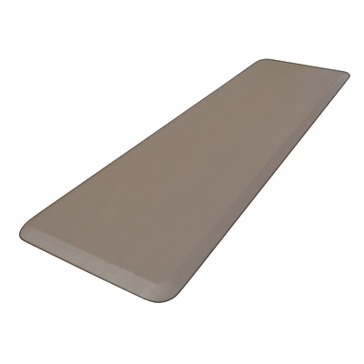 NewLife Eco-Pro by GelPro Anti-Fatigue Stand Desk & Comfort Work Floor Mat: 20x72: Taupe