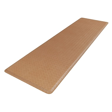 GelPro Classic Anti-Fatigue Comfort Floor Mat: 20x72: Basketweave Khaki