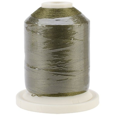 Signature 60 Cotton 3-Ply Mini King Spool, Basil Green, 1100 Yard