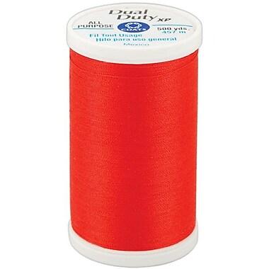 Dual Duty XP General Purpose Thread, Atom Red, 500 Yards