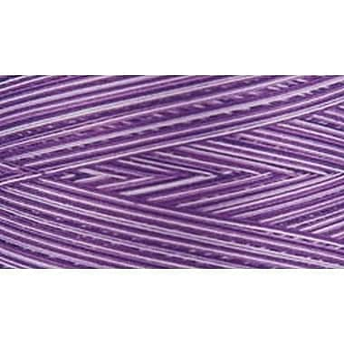 Natural Cotton Thread Variegated, Purple Passion, 3,281 Yards