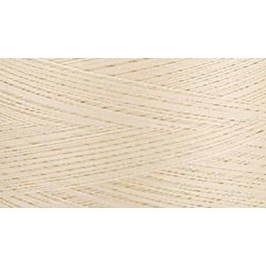 Natural Cotton Thread Solids, Cream, 3,281 Yards
