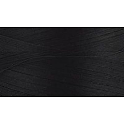 Natural Cotton Thread Solids, Black, 3,281 Yards