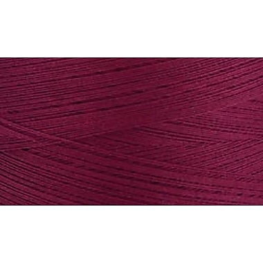 Natural Cotton Thread Solids, Burgundy, 3,281 Yards