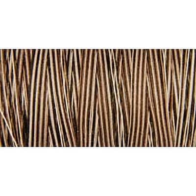 Natural Cotton Thread Variegated, Brown Sugar & Cinnamon, 876 Yards