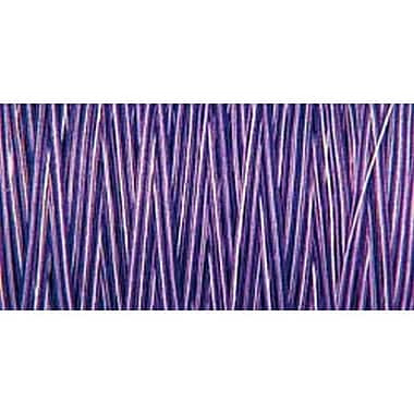 Natural Cotton Thread Variegated, Purple Passion, 876 Yards