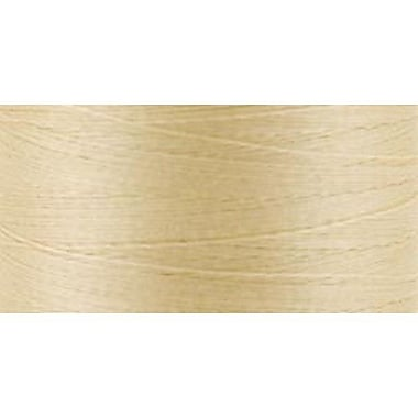 Natural Cotton Thread Solids, Cream, 876 Yards