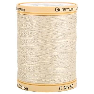 Natural Cotton Thread Solids, Oak Tan, 876 Yards