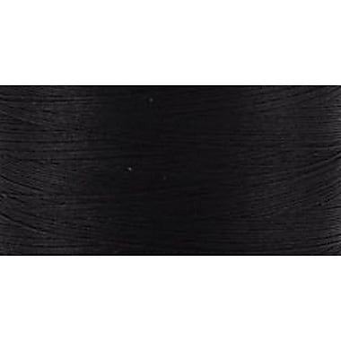 Natural Cotton Thread Solids, Black, 876 Yards
