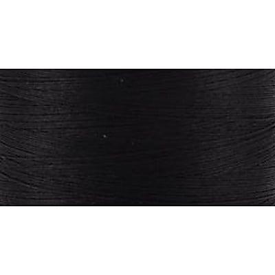 Natural Cotton Thread Solids, Black, 876 Yards