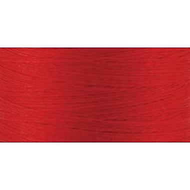 Natural Cotton Thread Solids, Red, 876 Yards
