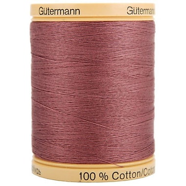 Natural Cotton Thread Solids, Mauve, 876 Yards