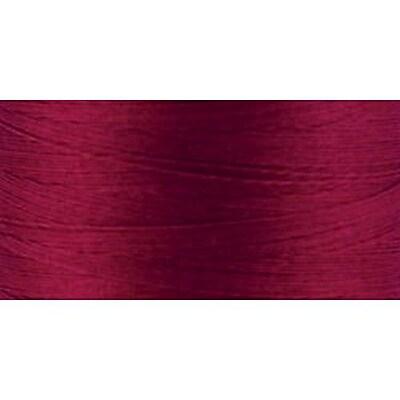 Natural Cotton Thread Solids, Burgundy, 876 Yards