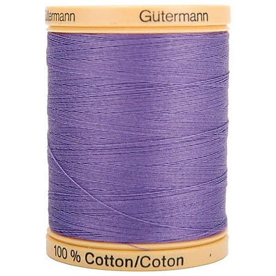 Natural Cotton Thread Solids, Grape, 876 Yards