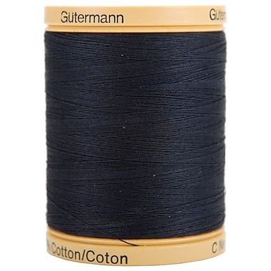 Natural Cotton Thread Solids, Midnight Blue, 876 Yards