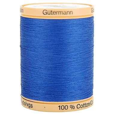 Natural Cotton Thread Solids, Royal Blue, 876 Yards