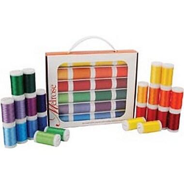 Melrose Trilobal Polyester Thread Assortment, Brights