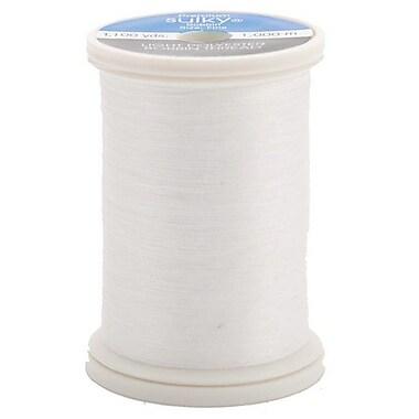 Sulky Bobbin Thread 60 Weight, White, 1100 Yards
