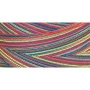Star Mercerized Cotton Thread Variegated, Over The Rainbow, 1200 Yards