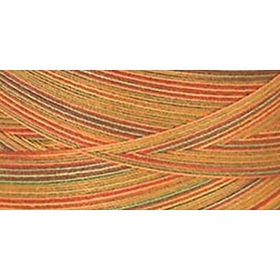 Star Mercerized Cotton Thread Variegated, Fall Leaves, 1200 Yards
