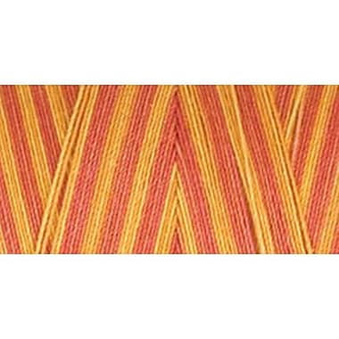 Star Mercerized Cotton Thread Variegated, Canyon Sunset, 1200 Yards