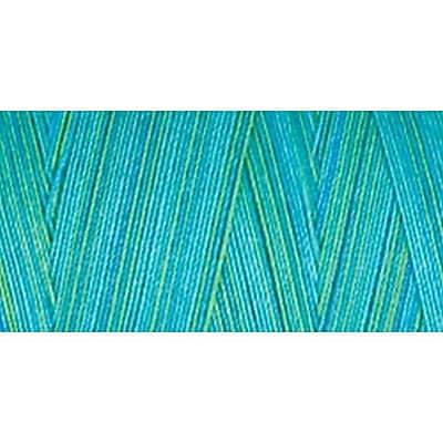 Star Mercerized Cotton Thread Variegated, Bahama Blues, 1200 Yards